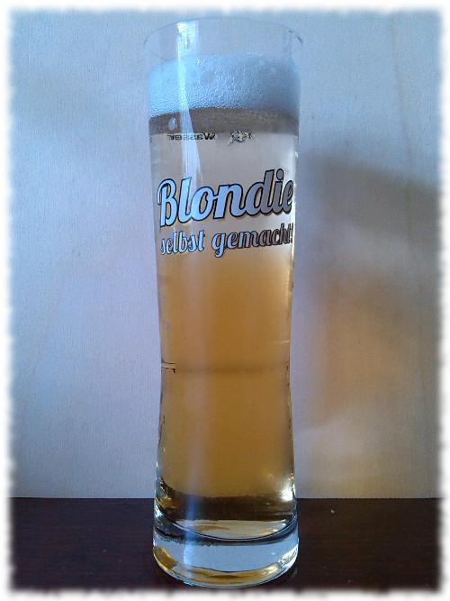 Sodastream Blondie Bier-Konzentrat gemischt