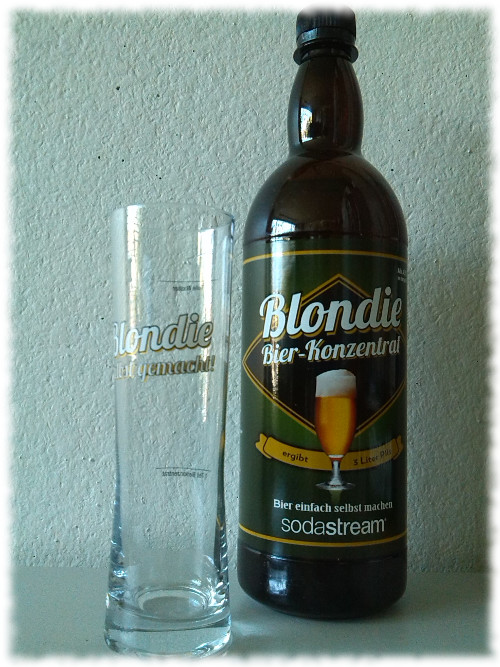 Sodastream Blondie Flasche