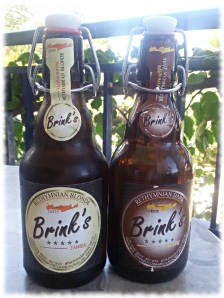 Brink's Rethymnian Bier Flaschen
