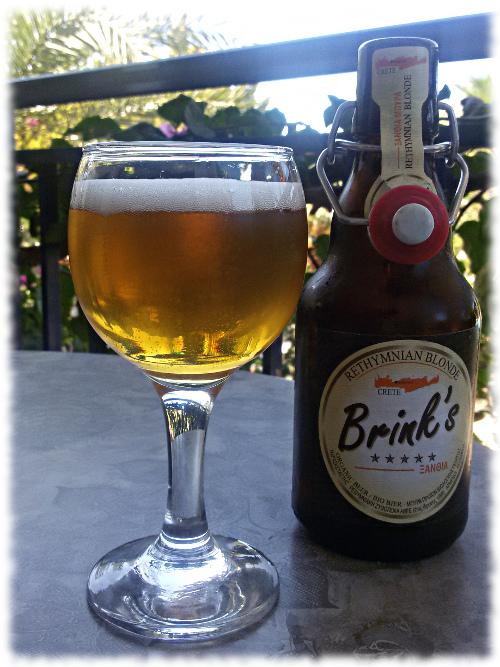 Brink's Rethymnian Blonde Glas