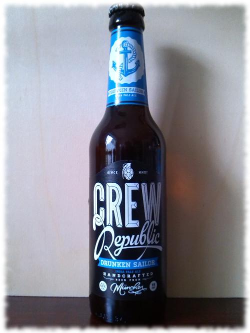 Crew Republic Drunken Sailor IPA Flasche
