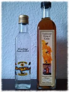 Kretischer Raki Flaschen