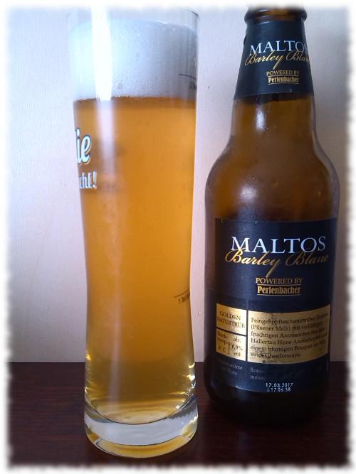 Lidl Maltos Barley Blanc Glas