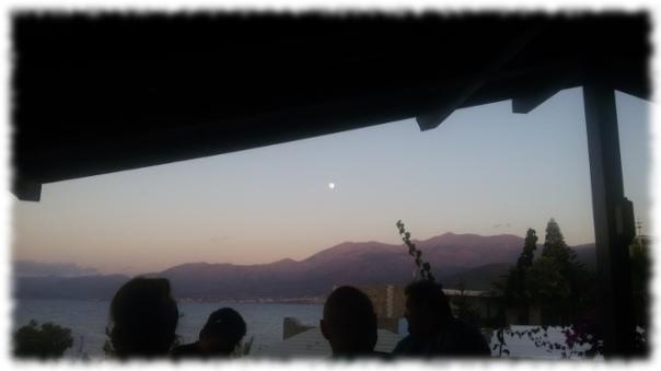 Mond über Kreta