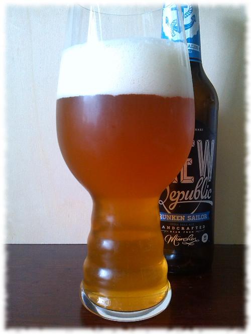 CREW Republic Drunken Sailor IPA Glas