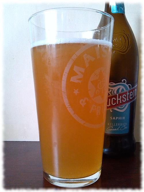 Duckstein Saphir Kellerbier Glas