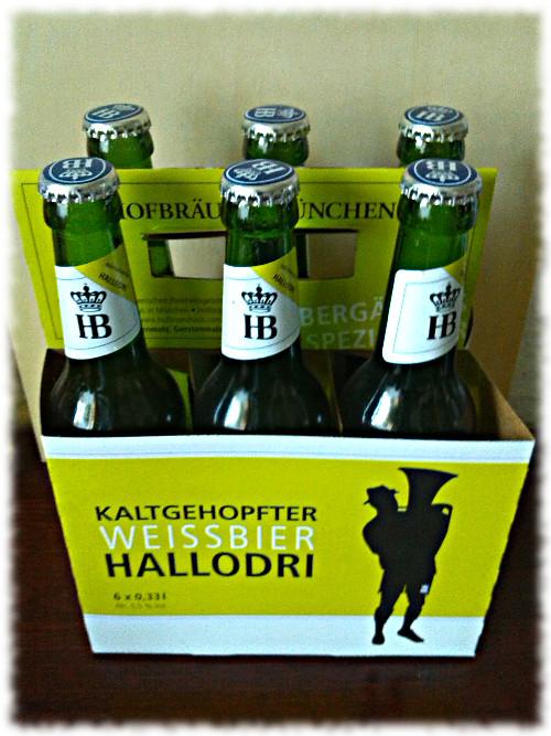 Hofbräu Kaltgehopfter Weissbier Hallodri Tragerl