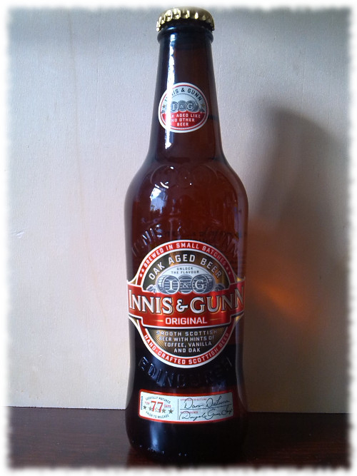Innis & Gunn Original Oak Aged Beer Flasche