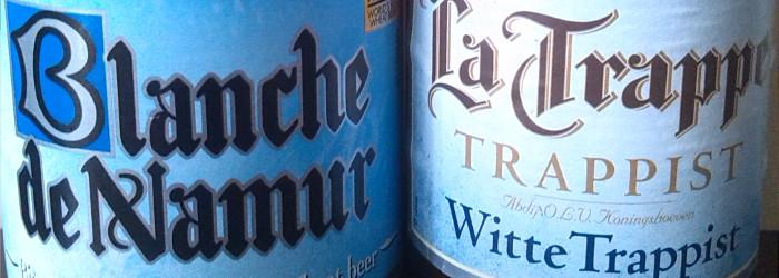 Wettbewerb der Witbier-Testsieger – La Trappe Witte Trappist vs Blanche deNamur