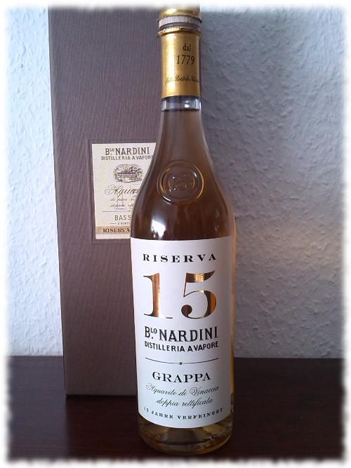 Nardini Grappa Riserva 15 Anni Flasche