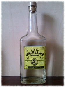 Pisco El Gobernador Flasche