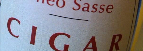 Sasse Cigar Special Titel