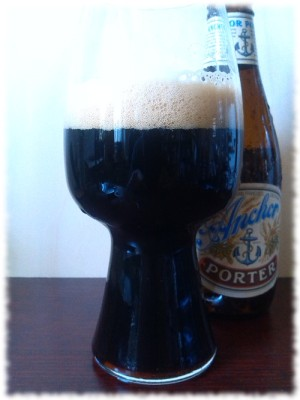 Anchor Brewing Porter Glas