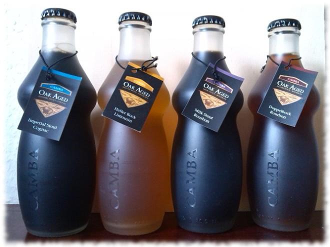 Camba Oak Aged Holzfassgereifte Biere Set Flaschen
