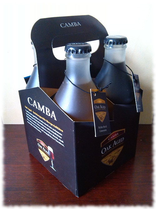 Camba Oak Aged Holzfassgereifte Biere Set Tragerl