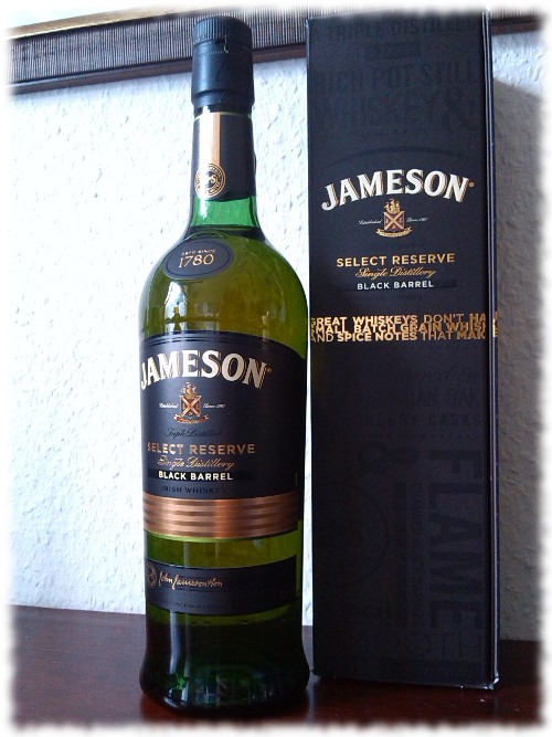 Jameson Select Reserve Black Barrel Irish Whiskey Flasche