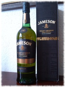 Jameson Select Reserve Black Barrel Irish Whiskey Flasche