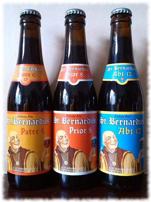St. Bernardus Sortiment Flaschen