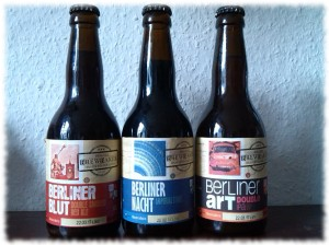 Brewbaker Berliner Blut, Berliner Nacht und Berliner Art