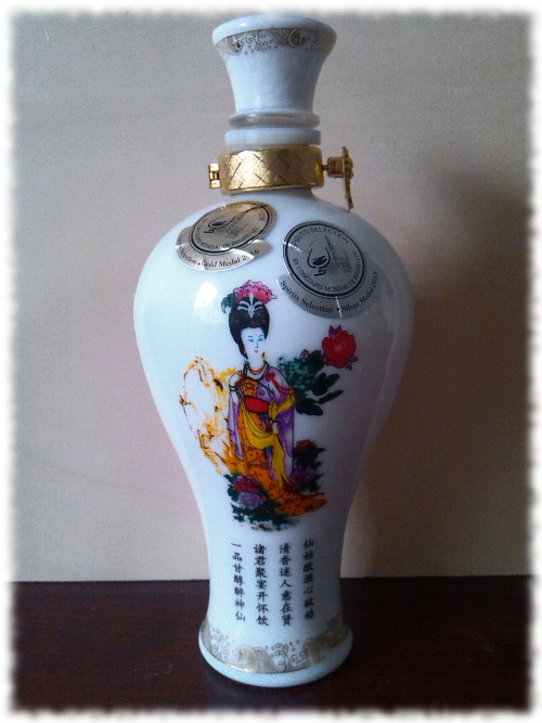 Ma Wo Shan Baijiu Flasche