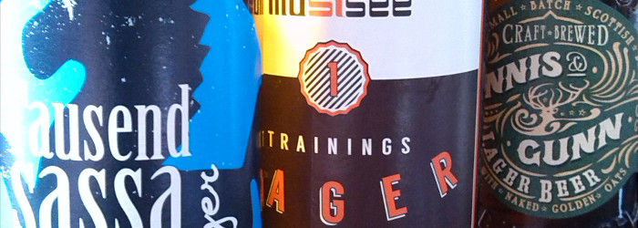Lagerkoller – Raschhofer Tausendsassa Lager, Mashsee Trainingslager und Innis & Gunn LagerBeer