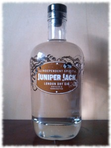 Juniper Jack London Dry Gin Flasche