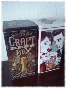 Kalea Beer Box Blechdosen