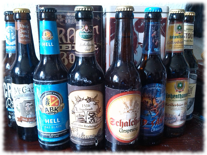 Kalea Beer Box Flaschen