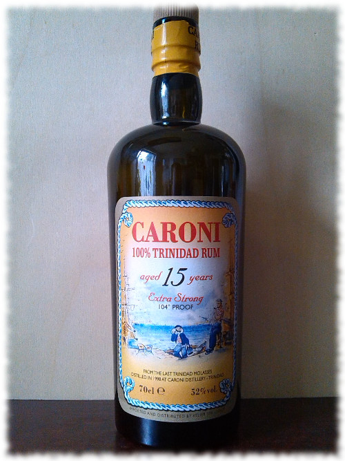 Caroni 100% Trinidad Rum 15 Years Flasche