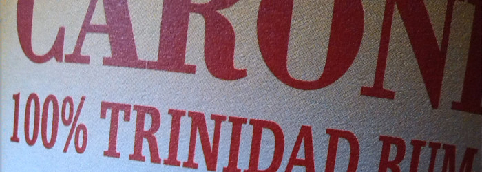 Caroni 100% Trinidad Rum 15 Years Titel