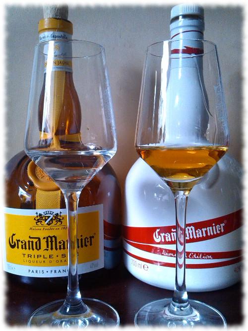 Grand Marnier Cordon Jaune und Cordon Rouge Vergleich