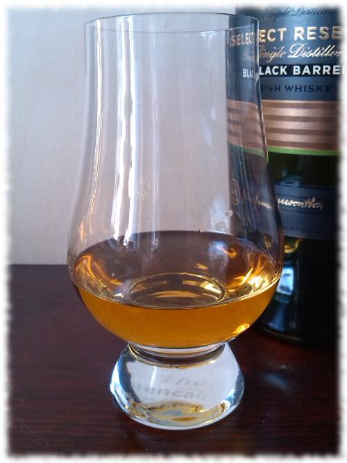 Jameson Select Reserve Black Barrel Irish Whiskey Glas