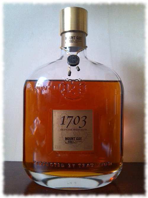 Mount Gay 1703 Old Cask Selection Barbados Blended Rum Flasche