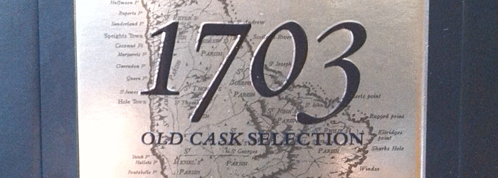 Mount Gay 1703 Old Cask Selection Barbados Blended Rum Titel
