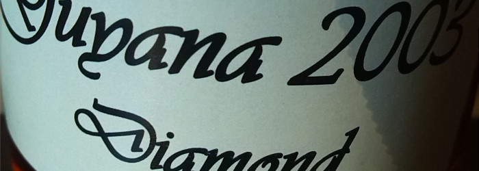 Our Rum & Spirits Guyana 2003 Diamond Titel