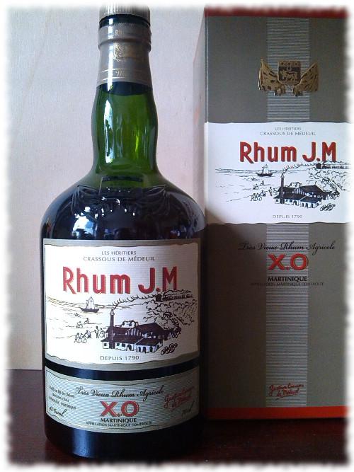 Rhum J.M. Très Vieux Rhum Agricole X.O. Flasche