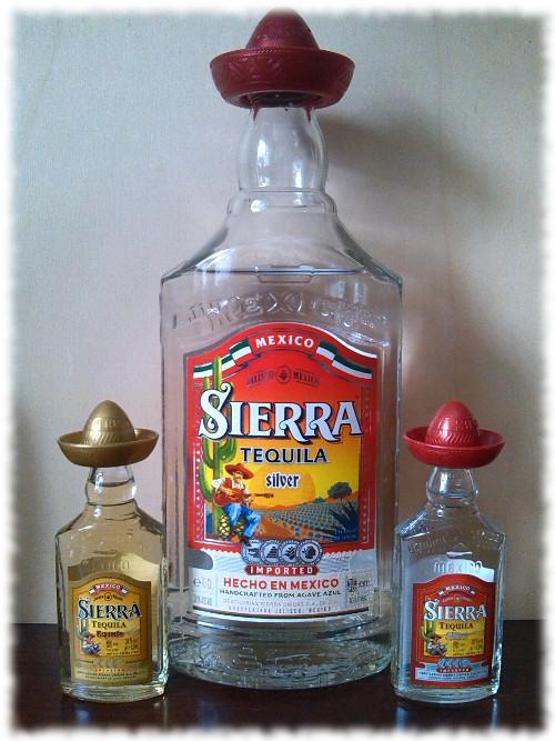 Sierra Tequila Silver Mixto Flasche