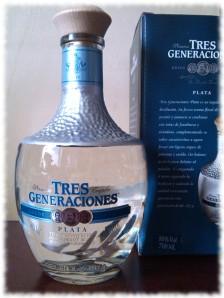 Sauza Tres Generaciones Tequila Plata Flasche