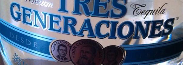 Sauza Tres Generaciones Tequila Plata Titel