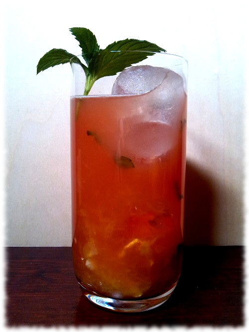 Xinyang Sunrise Cocktail