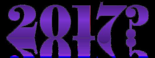 2017 Schriftzug