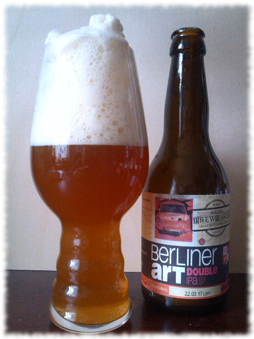 Brewbaker Berliner Art Double IPA