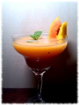 frozen-papaya-mango-daiquiri-cocktail