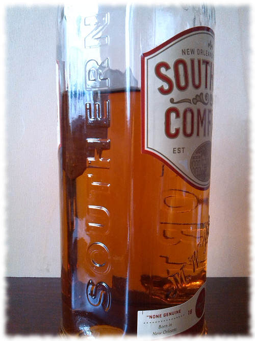 Southern Comfort Flaschendetails