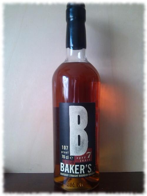 Baker's Kentucky Straight Bourbon Whiskey Flasche