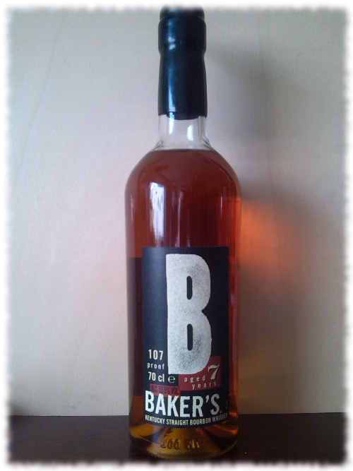 Baker's Kentucky Straight Bourbon Whiskey Flasche