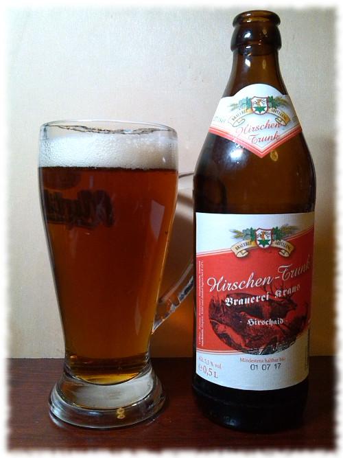 Brauerei Kraus Hausbräu Hirschen-Trunk