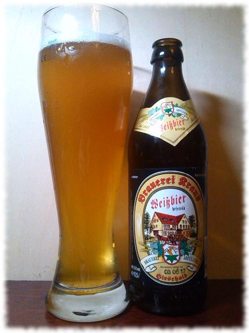 Brauerei Kraus Hausbräu Weißbier