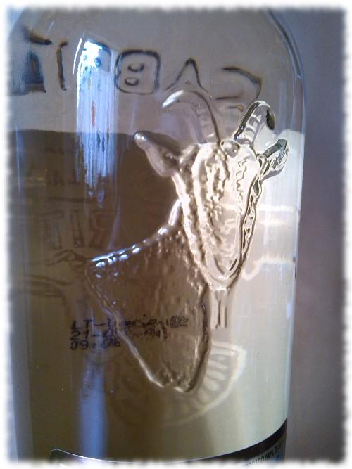 Cabrito Tequila Reposado Glasdetail