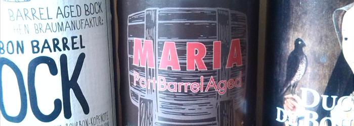Aus dem Fass in die Flasche – Welde Bourbon Barrel Bock, Kehrwieder Maria Port Barrel Aged und Duchesse deBourgogne